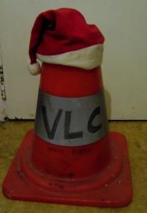 Mon plot de chantier VLC te souhaite aussi un bon Noël.