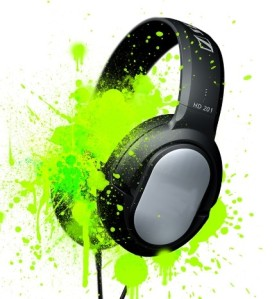 headphones-green